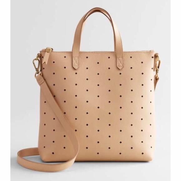 a2d53d9f6 Madewell Bags   Mini Transport Leather Crossbody Linen   Poshmark
